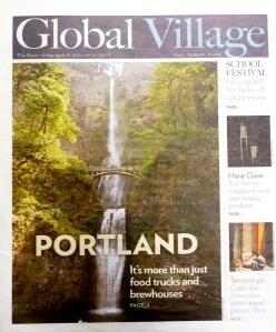 Story on Portland in Global Village