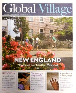 Story on New England in Global Village