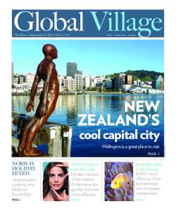 Global Village cover story on Wellington, NZ