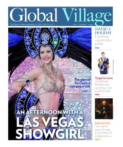 Global Village cover story on Las Vegas