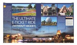 Walt Disney World story in Global Village