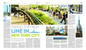 Story on New York in Global Village