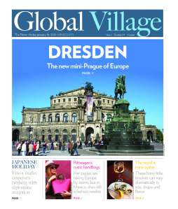 Global Village cover story on Dresden